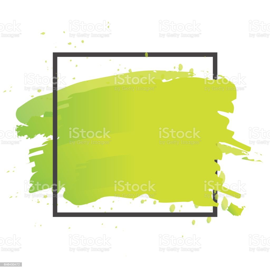 Art brush paint vector. Abstract texture background design acrylic stroke poster illustration. vector art illustration