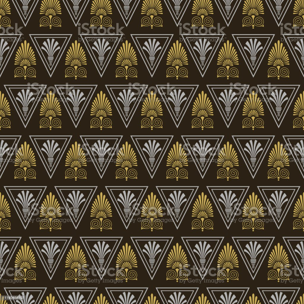 Art Deco Background Image Wallpaper Texture Colors Black Gold