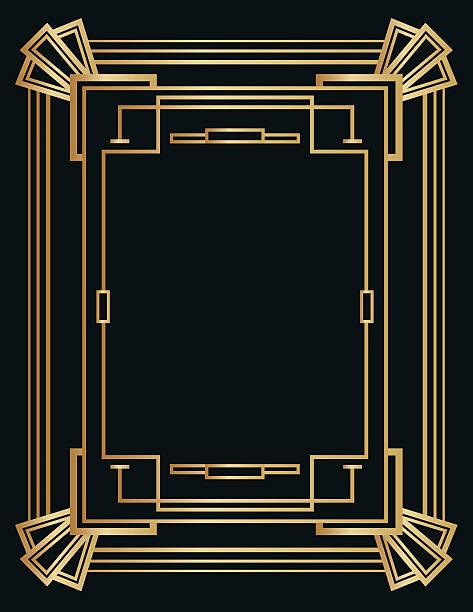 Best Gatsby Frame Illustrations, Royalty-Free Vector ...