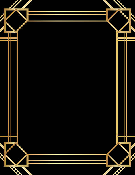 Royalty Free Gatsby Frame Clip Art, Vector Images & Illustrations ...