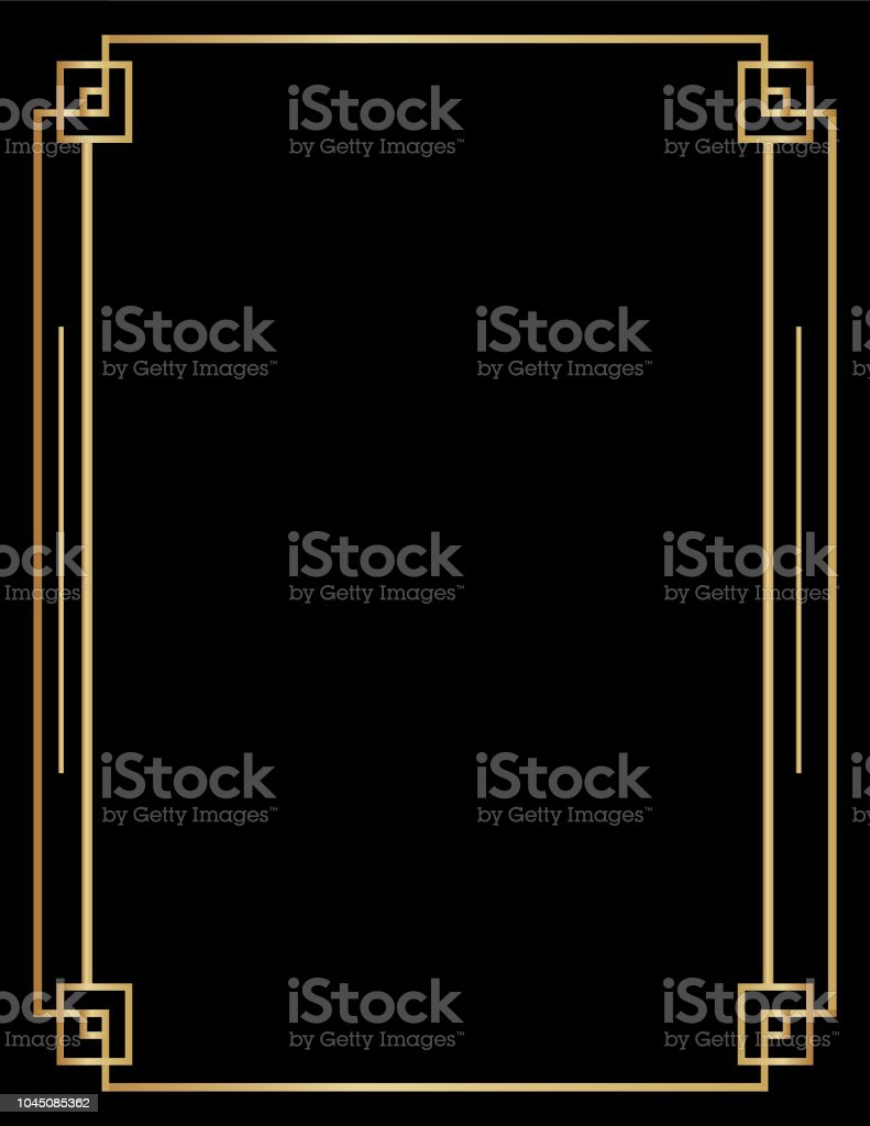 Art Deco Backgrounds vector art illustration