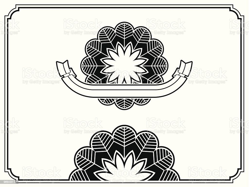 Art deco border and banner royalty-free art deco border and banner stock vector art & more images of art
