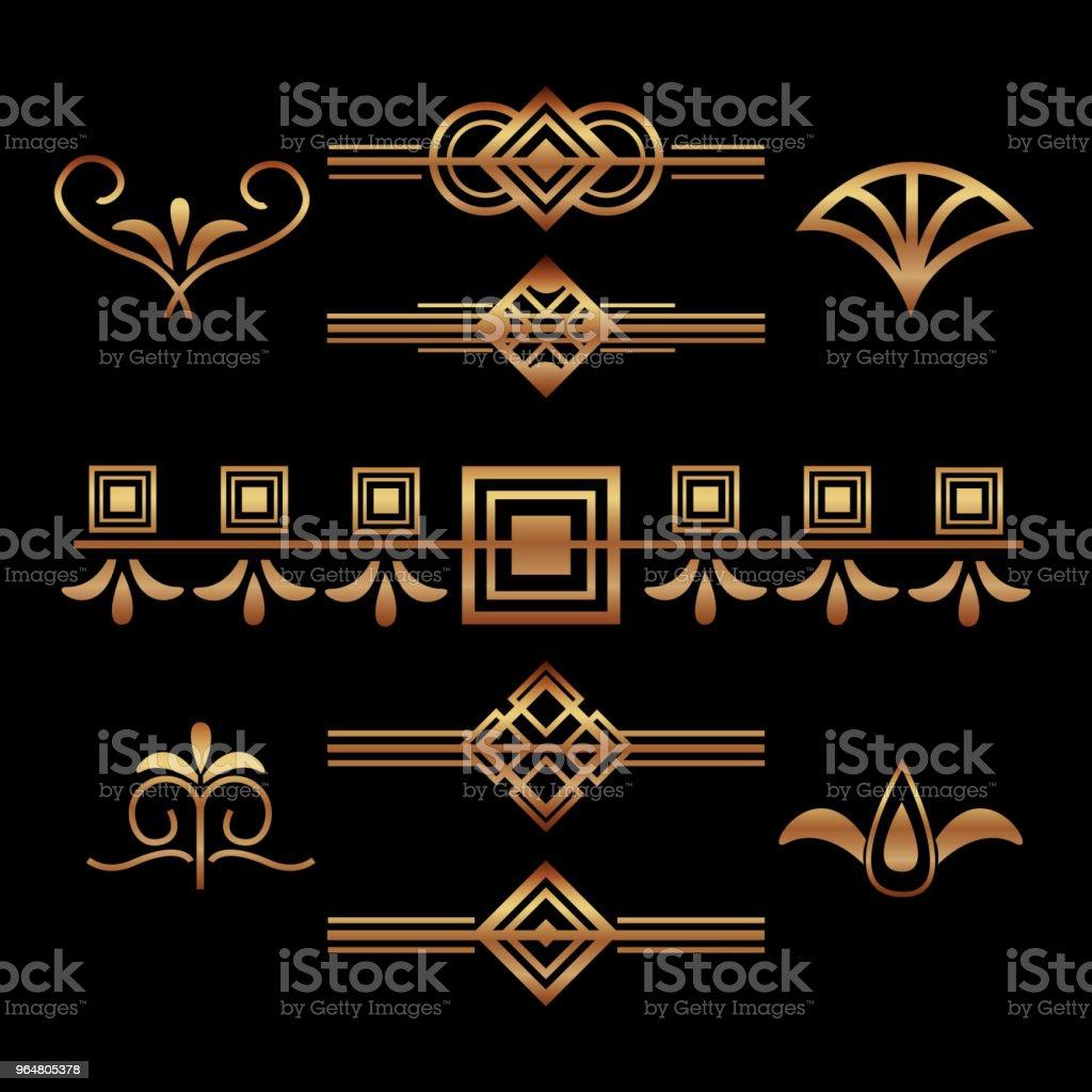 art deco frames and borders royalty-free art deco frames and borders stock vector art & more images of art deco