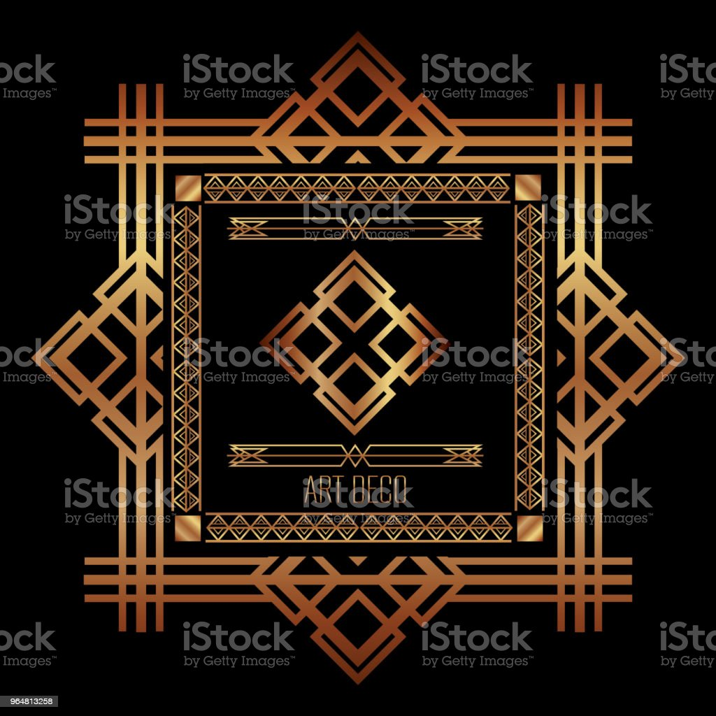 art deco frames and borders royalty-free art deco frames and borders stock vector art & more images of abstract
