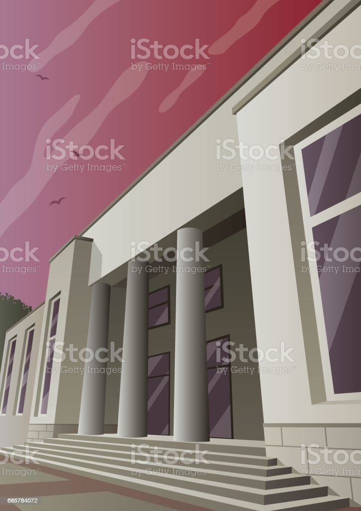 Art Deco Museum royalty-free art deco museum stock vector art & more images of architecture