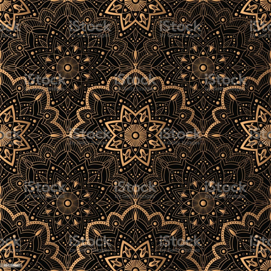 Art Deco pattern seamless vector vector art illustration
