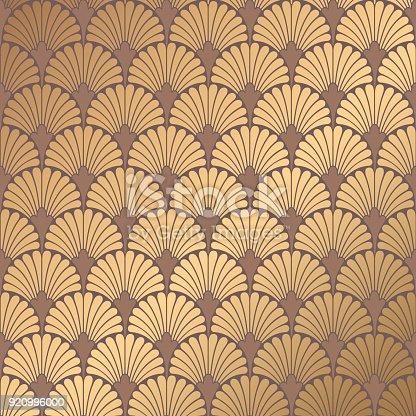 istock Art Deco Pattern 920996000