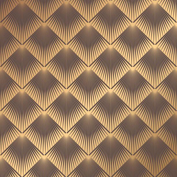 Art Deco Pattern vector art illustration