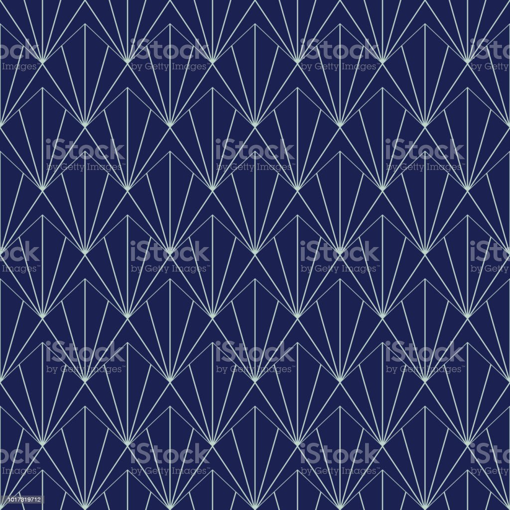 Art Deco Seamless Pattern, Geometrical Background for design, cover, textile, wallpaper, decoration in vector vector art illustration