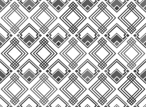 Art Deco Seamless Pattern Illustration