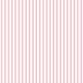 Repeating pattern design with art deco motif in pink and white