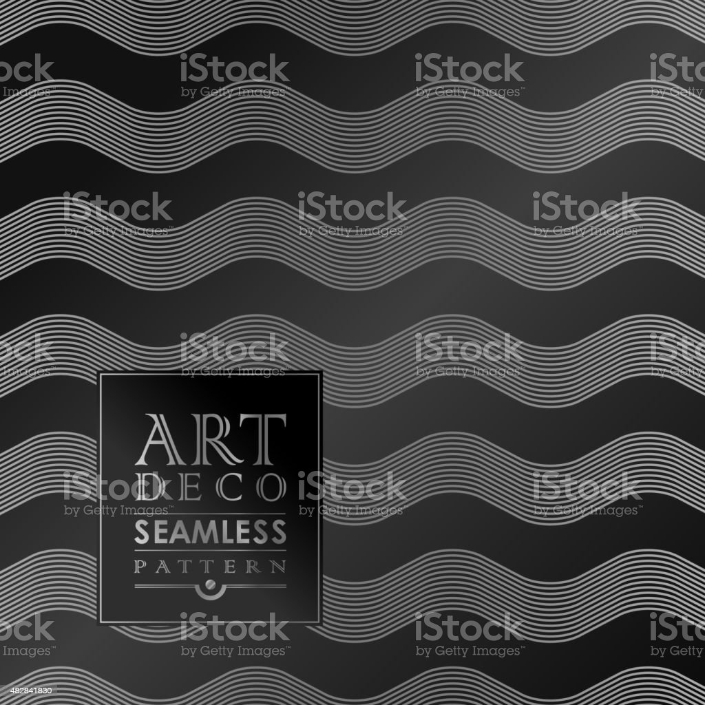 Was Ist Deco deco seamless vintage wallpaper pattern stock vector