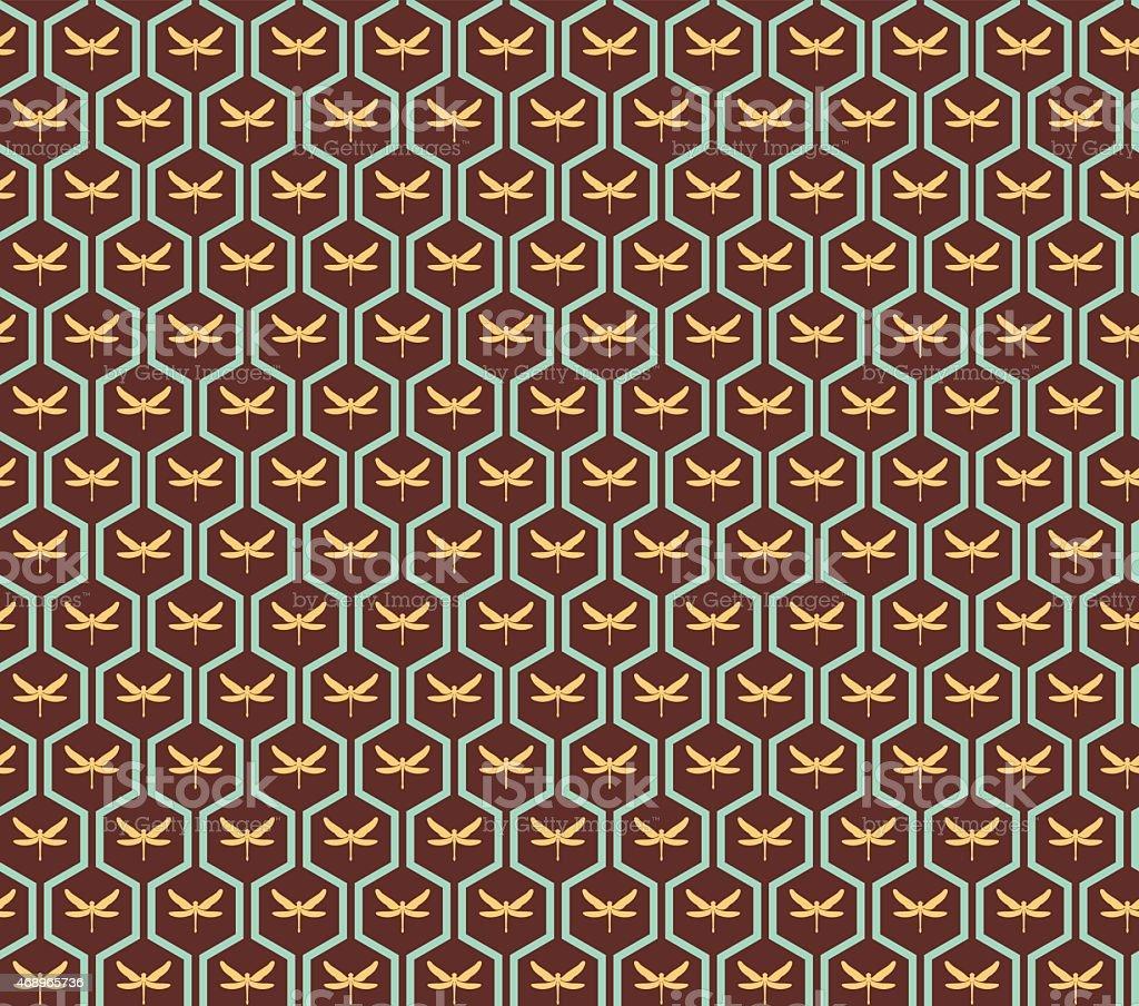 sans couture papier peint art deco vintage motif couleur cuivre cliparts vectoriels et plus d. Black Bedroom Furniture Sets. Home Design Ideas