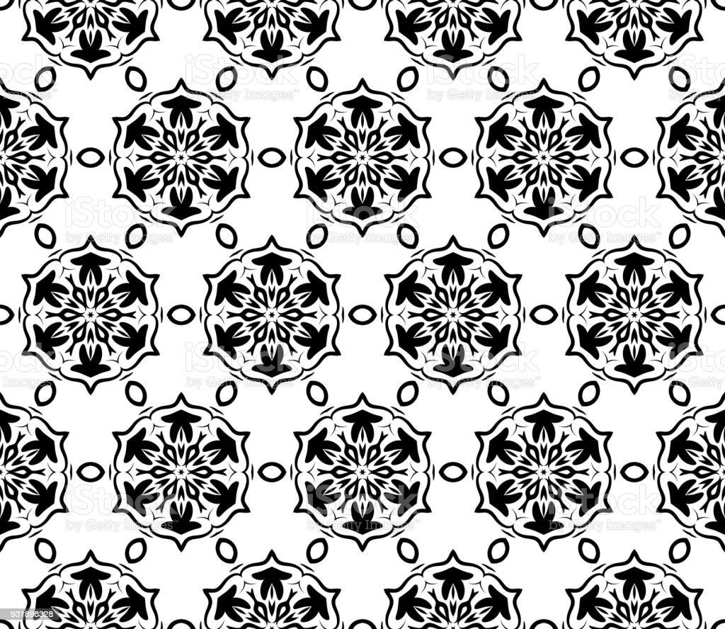 Textura De Patrón Sin Costuras De Estilo Art Deco Ilustración De ...