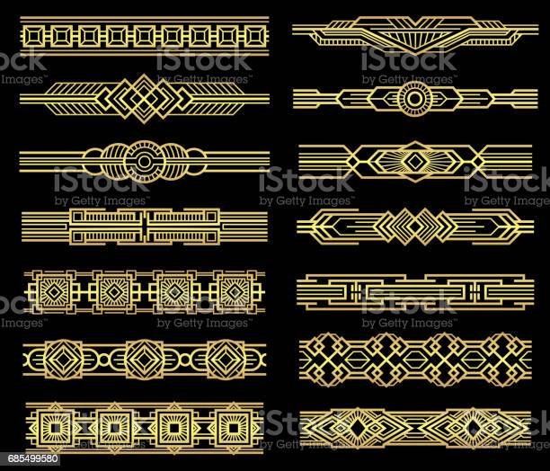 Art deco vector line borders set in 1920s graphic style vector id685499580?b=1&k=6&m=685499580&s=612x612&h=6f4k1imz00wjcywcwzx7jx9p   pdpp7phwxkwrvqyk=