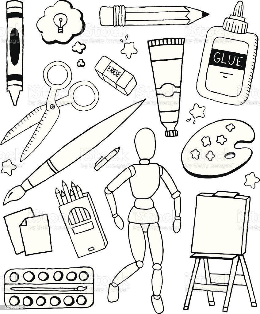 Art Doodles royalty-free art doodles stock vector art & more images of art