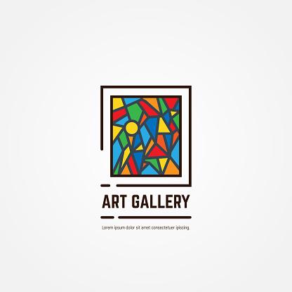 Art gallery emblem