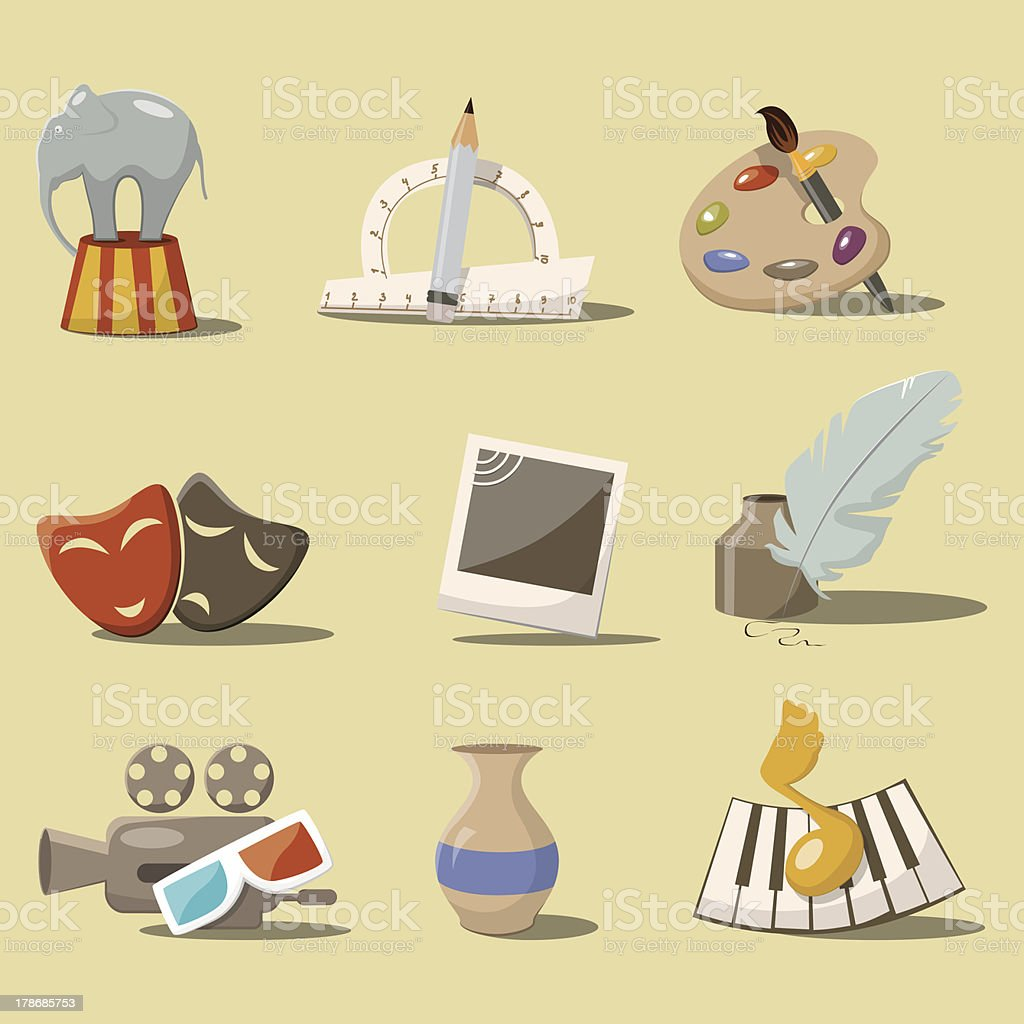 Art icons royalty-free art icons stock vector art & more images of art