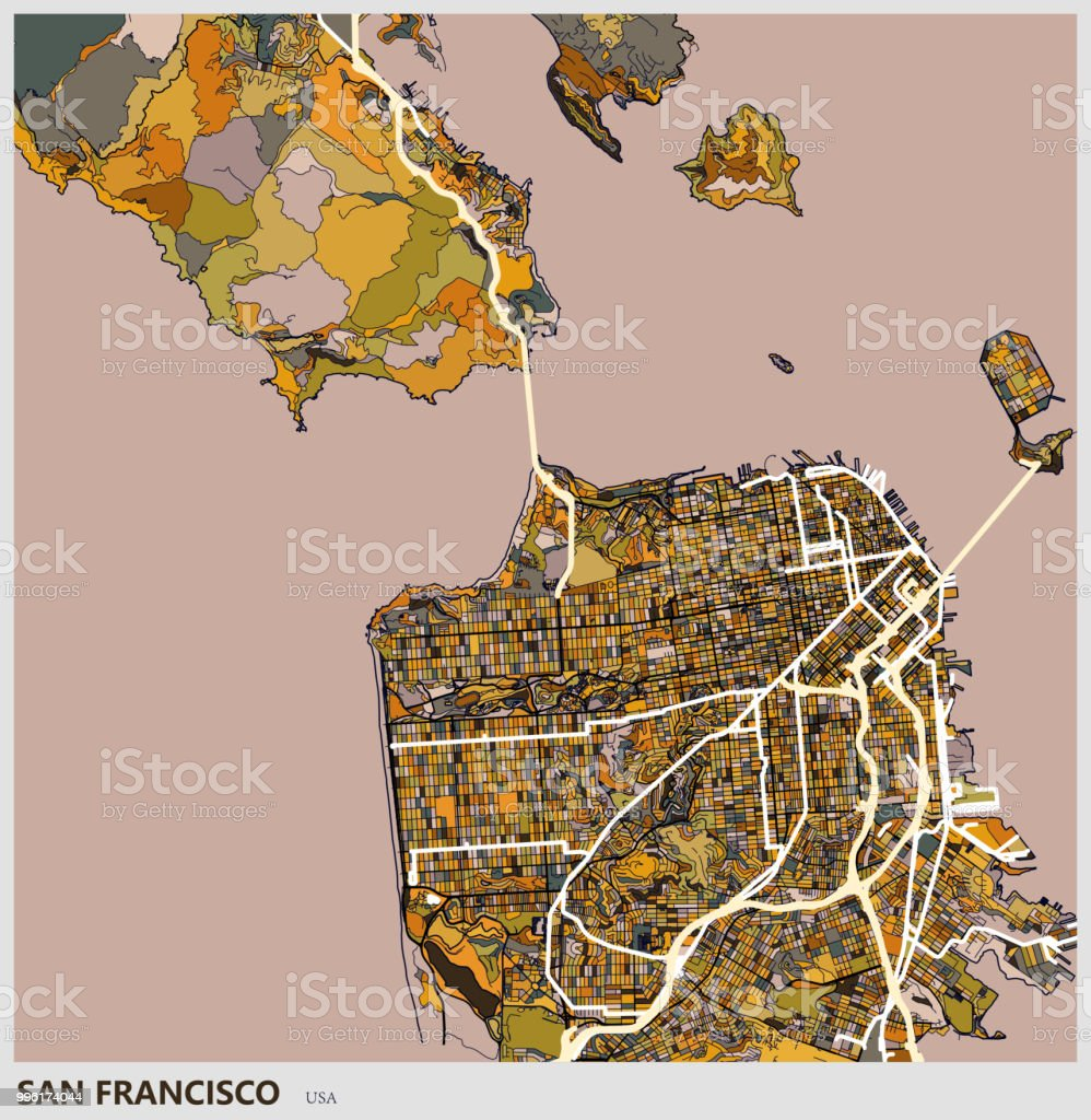 Art Illustration Of San Francisco City Map Stock ... on western north carolina city map, seattle city map, london city map, sfo city map, traverse city city map, dfw city map, alvin city map, new roads city map, fresno county city map, los angeles city map, pagosa springs city map, bay area city map, princeton city map, north county san diego city map, university of chicago city map, park city city map, reynosa city map, napa county city map, butte county city map, west point city map,