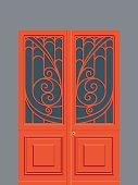 Art Nouveau Door