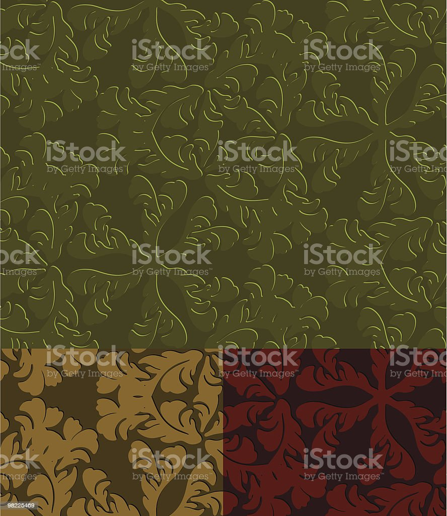 Art Nouveau Leaf Pattern royalty-free art nouveau leaf pattern stock vector art & more images of abstract