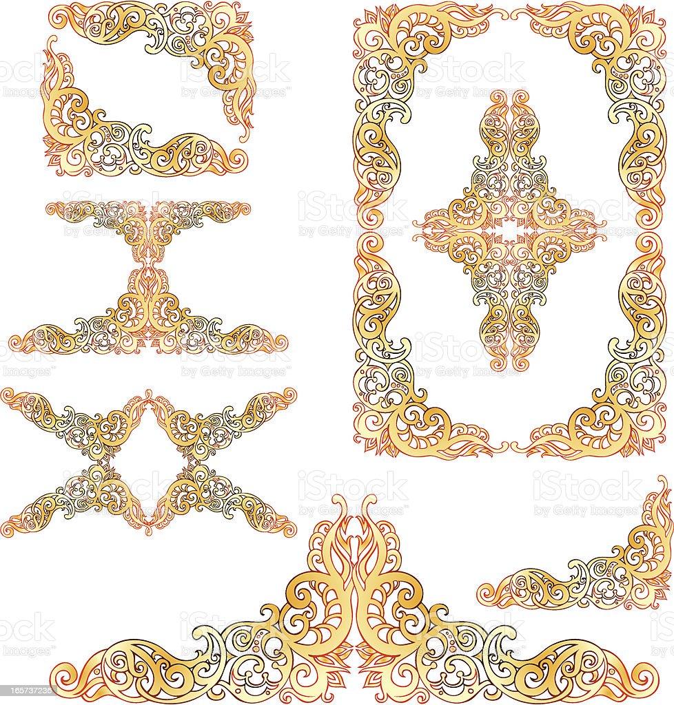 アート nuveau フレームの要素 のイラスト素材 165737236 istock