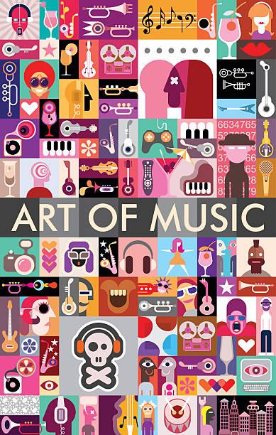 Art de la musique - Illustration vectorielle