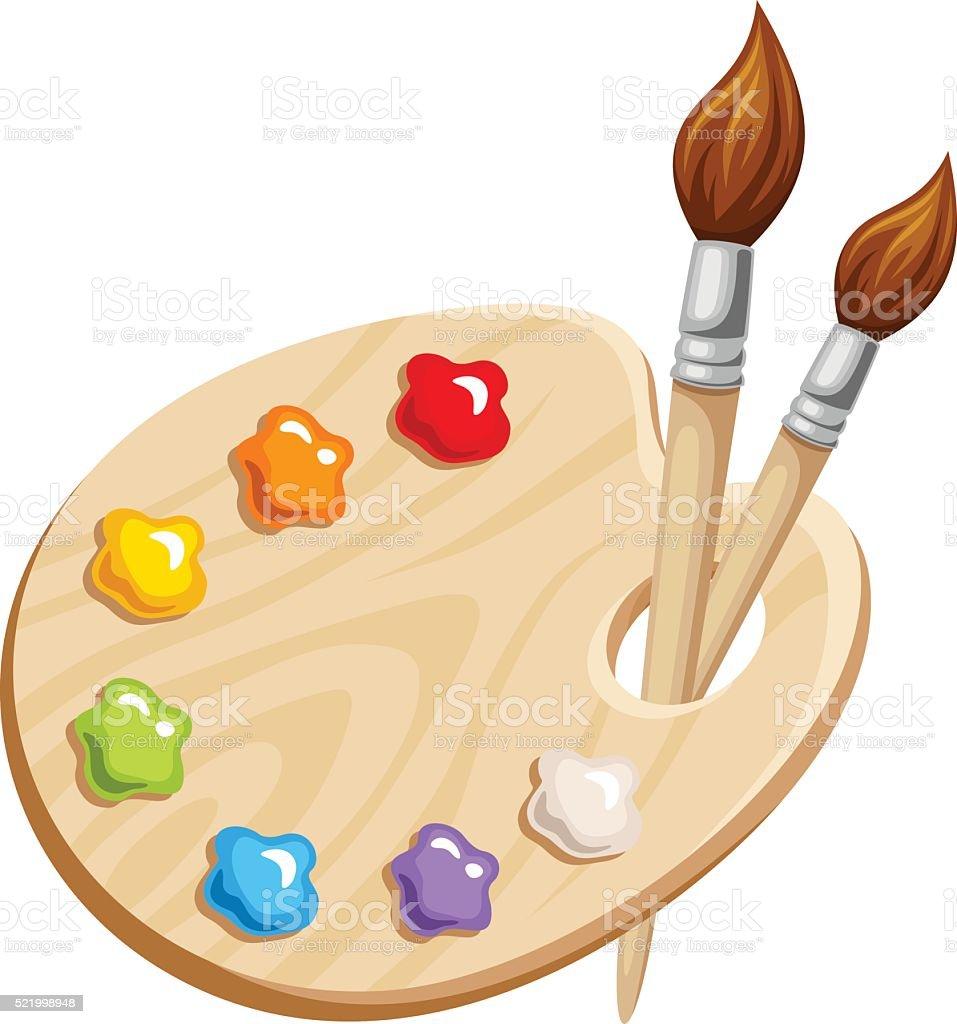 royalty free paint palette clip art vector images illustrations rh istockphoto com paint pallet clip art paint pallet clip art