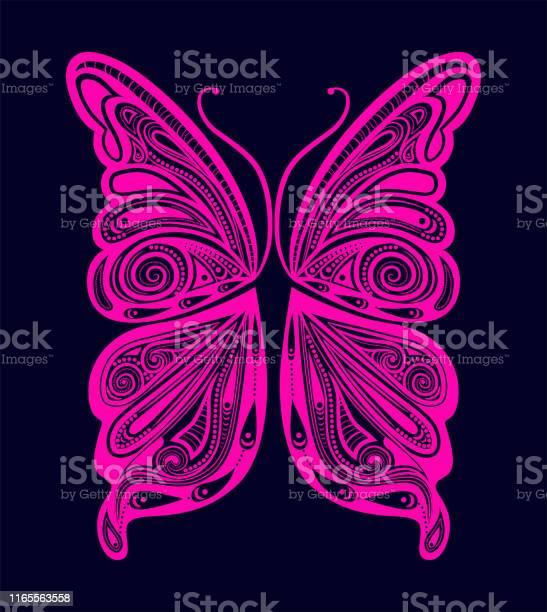 Art sketches colorful butterfly symbol in vector stock illustration vector id1165563558?b=1&k=6&m=1165563558&s=612x612&h=ewj01oa8jar1hidfvzdzxvcpfeovik67 kbel3lvlaq=