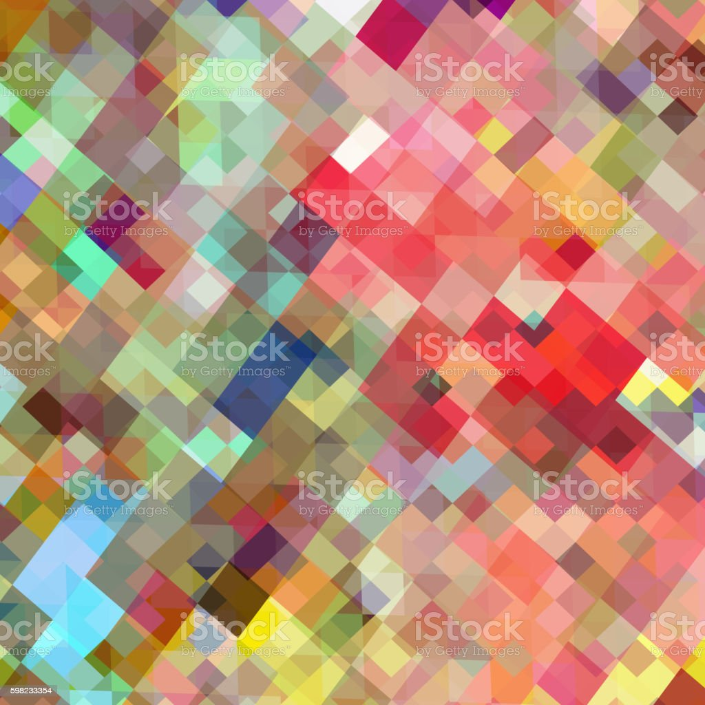 Art square mosaic background vector illustration. EPS 10 ilustração de art square mosaic background vector illustration eps 10 e mais banco de imagens de abstrato royalty-free