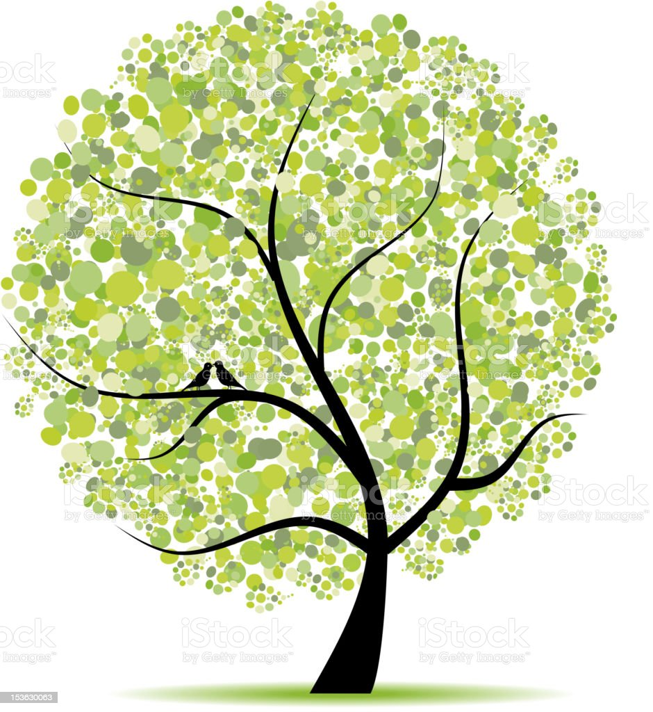 Art tree beautiful for your design royalty-free art tree beautiful for your design stock vector art & more images of art