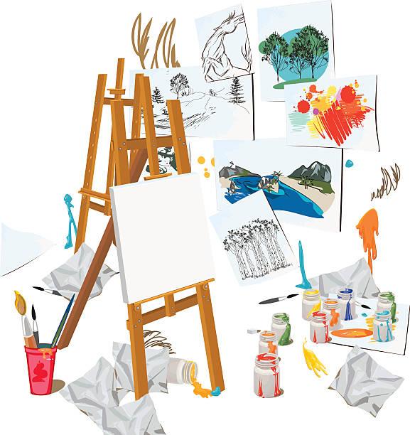 Art Class Illustrations, Royalty-Free Vector Graphics ...