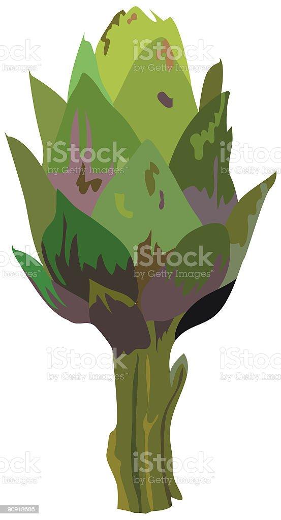 Artichoke royalty-free artichoke stock vector art & more images of artichoke