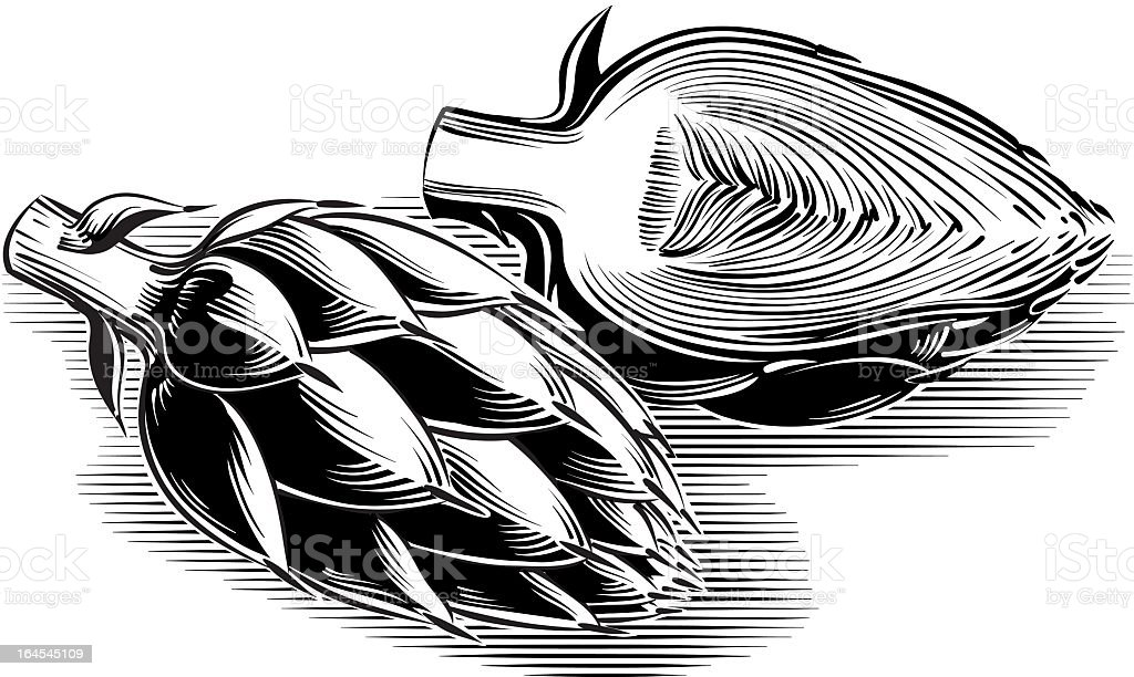 artichokes royalty-free artichokes stock vector art & more images of agriculture