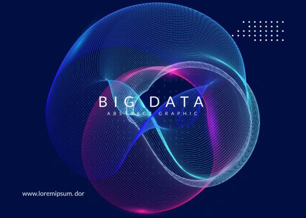 人工知能の背景。大きなデータ、vi のための技術 - ai点のイラスト素材/クリップアート素材/マンガ素材/アイコン素材