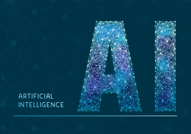 artificial intelligence banner - artificial intelligence stock illustrations, clip art, cartoons, & icons