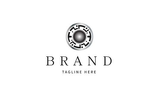 Artificial Intelligence Company Brand, AI or IA letter logo. Unique attractive creative modern initial AI IA A I initial based letter icon logo