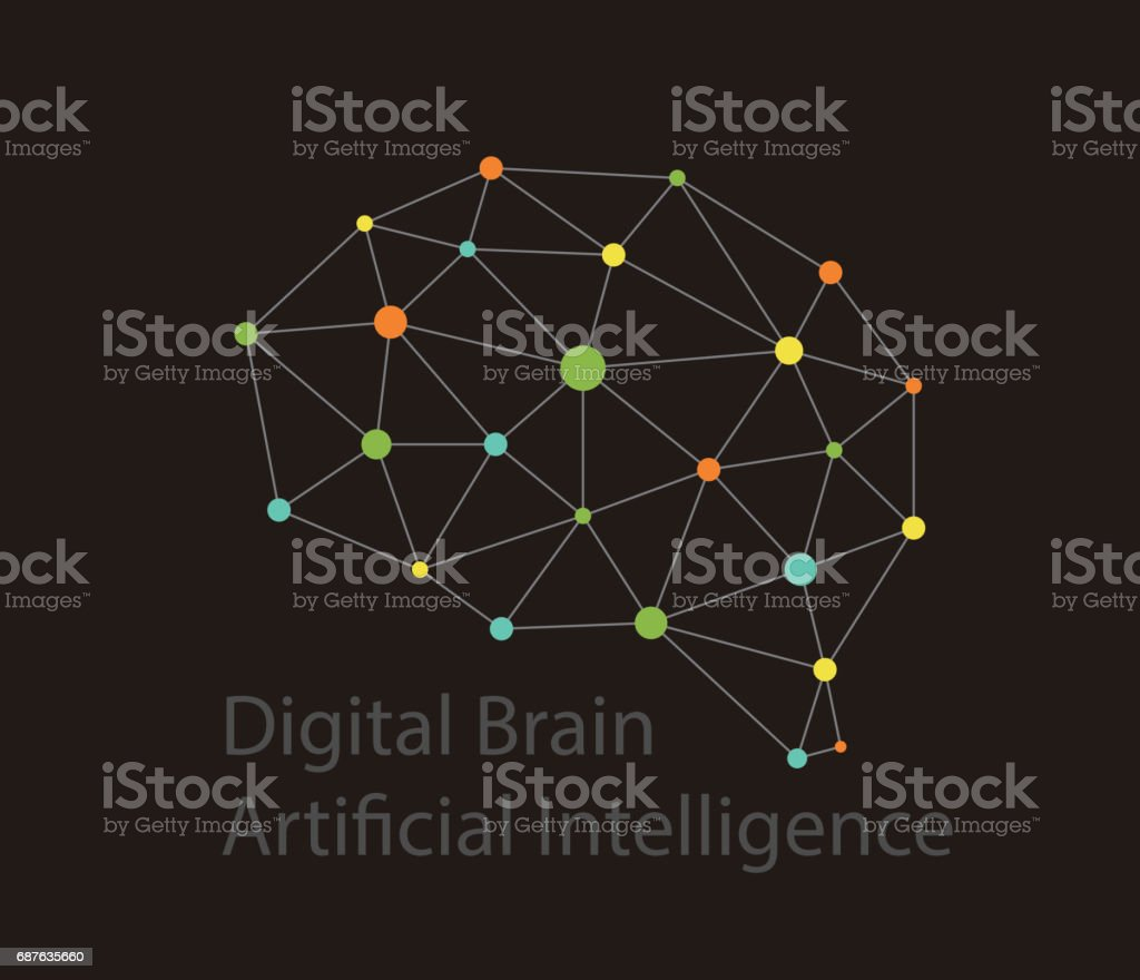 Intellect Wiring Diagram Trusted Schematics Rc Car Ladder Artificial Intelligence Concept Digital Dot Circuit Board Brain Icon Basic Electrical Diagrams