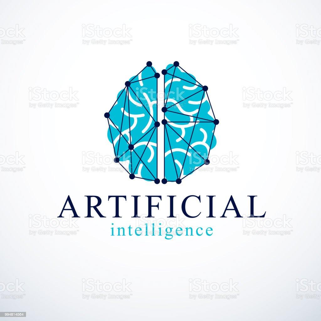 Ilustración de Diseño De Vector De Concepto De Inteligencia ...