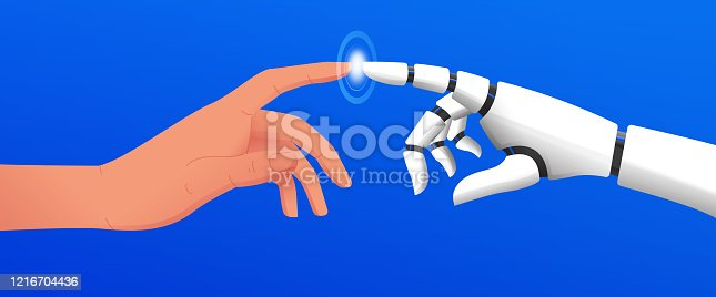 istock Artificial Intelligence Concept Vector Illustration 1216704436
