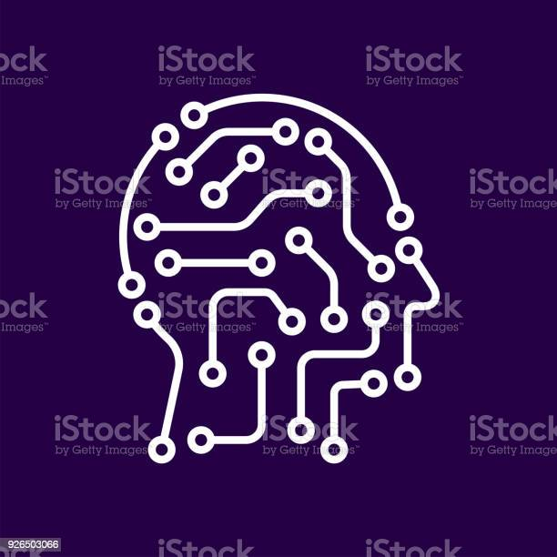 Artificial intelligence icon techno human head logo concept creative vector id926503066?b=1&k=6&m=926503066&s=612x612&h=amklcgv9ieewqp hsor0kr9apwma2g5breg9yg5bmvc=