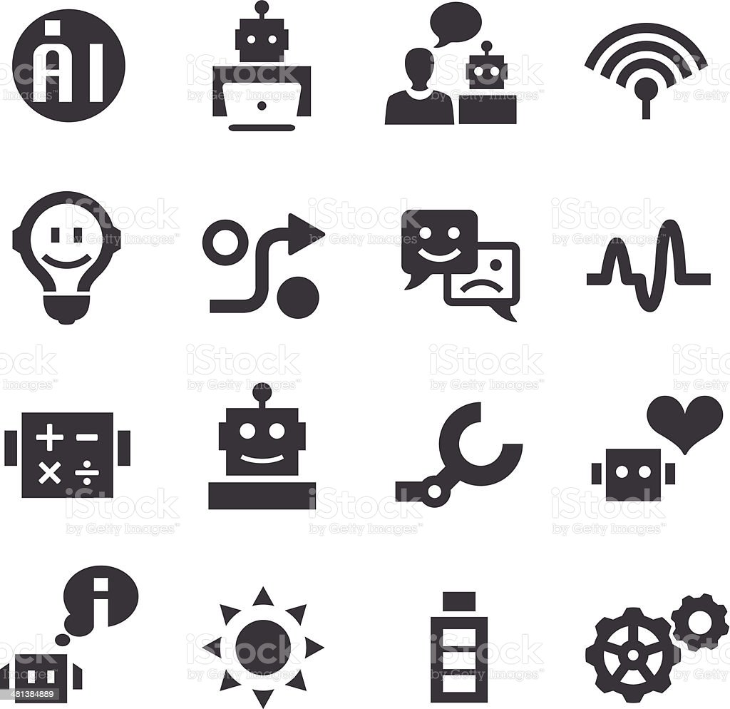Artificial Intelligence Icons - Acme Series
