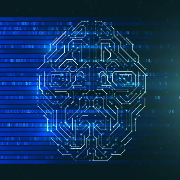 Artificial Intelligence illustration vector art illustration