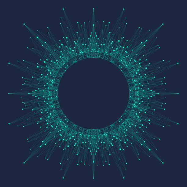 Künstliche Intelligenz-Logo. Künstliche Intelligenz und maschinelles Lernen Konzept. Vektor-Symbol AI. Neuronale Netze und anderen modernen Technologien Konzepte. Sci-Fi-Technologie-Konzept – Vektorgrafik
