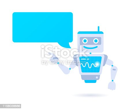 istock Artificial Intelligence Robot Character 1158038886