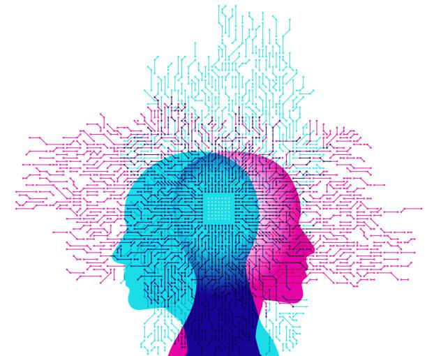 illustrations, cliparts, dessins animés et icônes de l'intelligence artificielle - intelligence artificielle