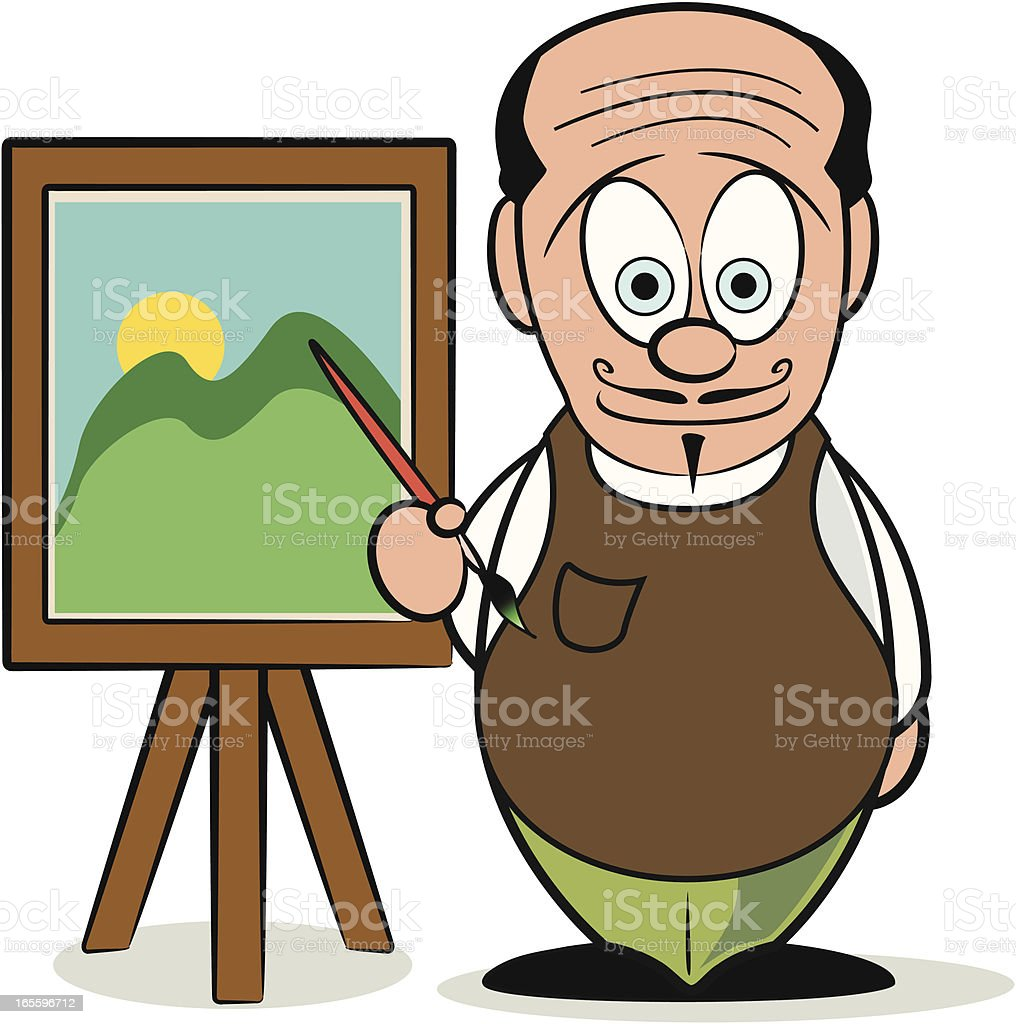 Artist Cartoon royalty-free artist cartoon stock vector art & more images of adult