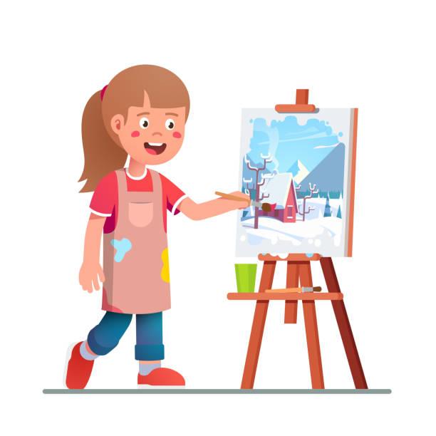 40 Small Canvas Painting Ideas Illustrations Clip Art