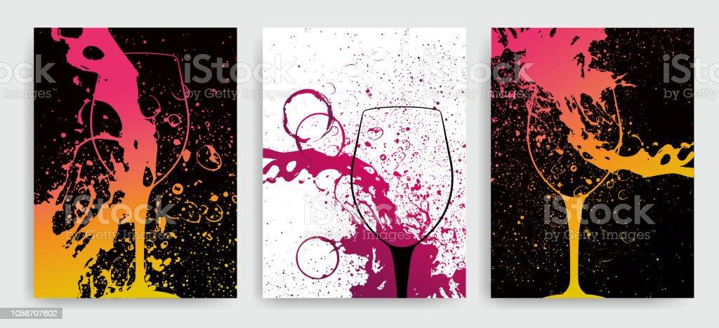 ワインのイベントのための芸術の...