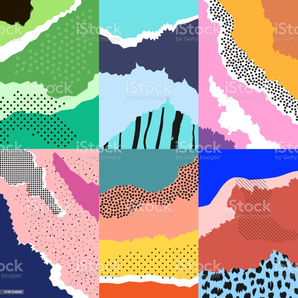 Artistic background.Modern graphic design vector art illustration